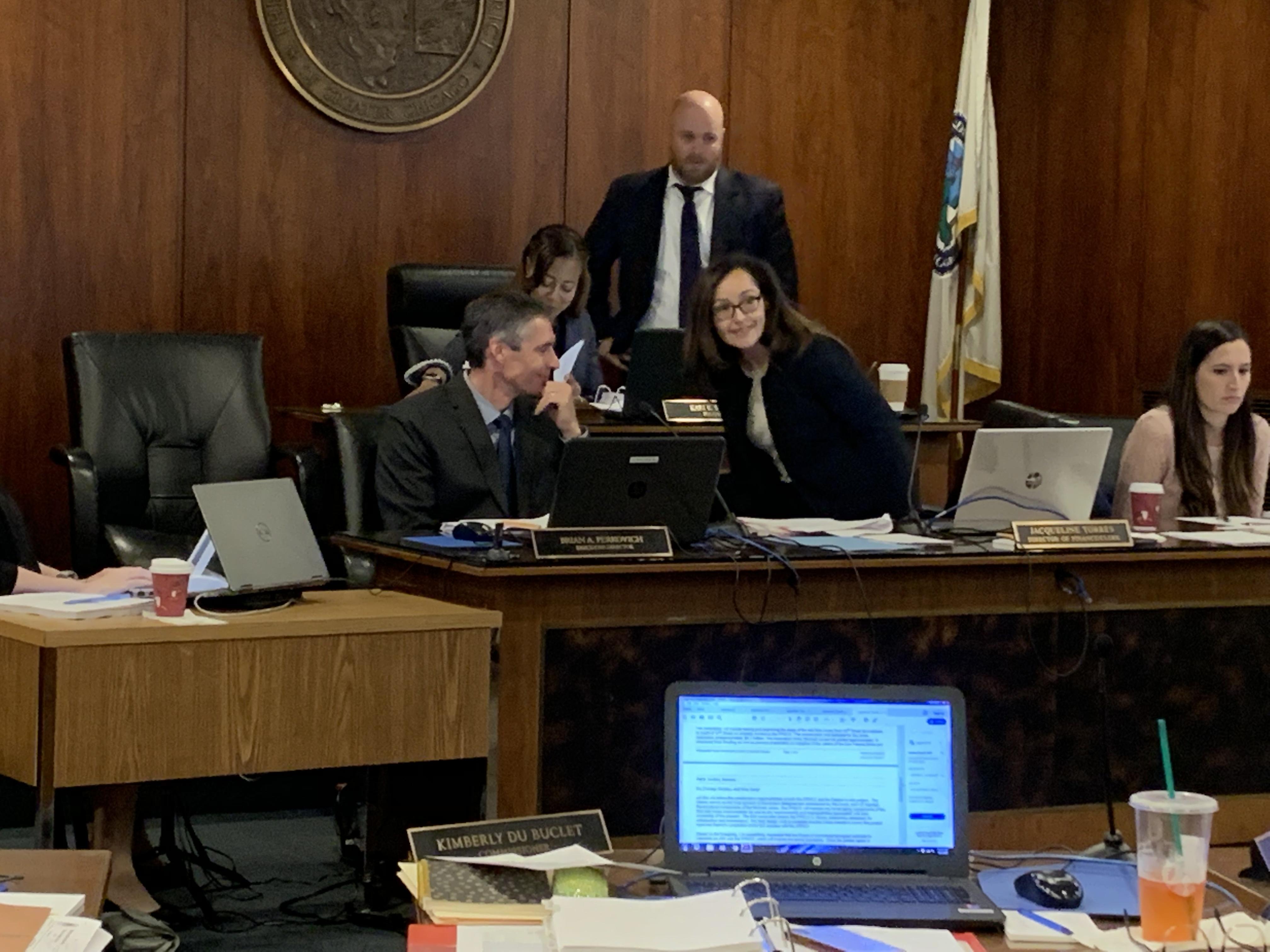 Metropolitan Water Reclamation board members